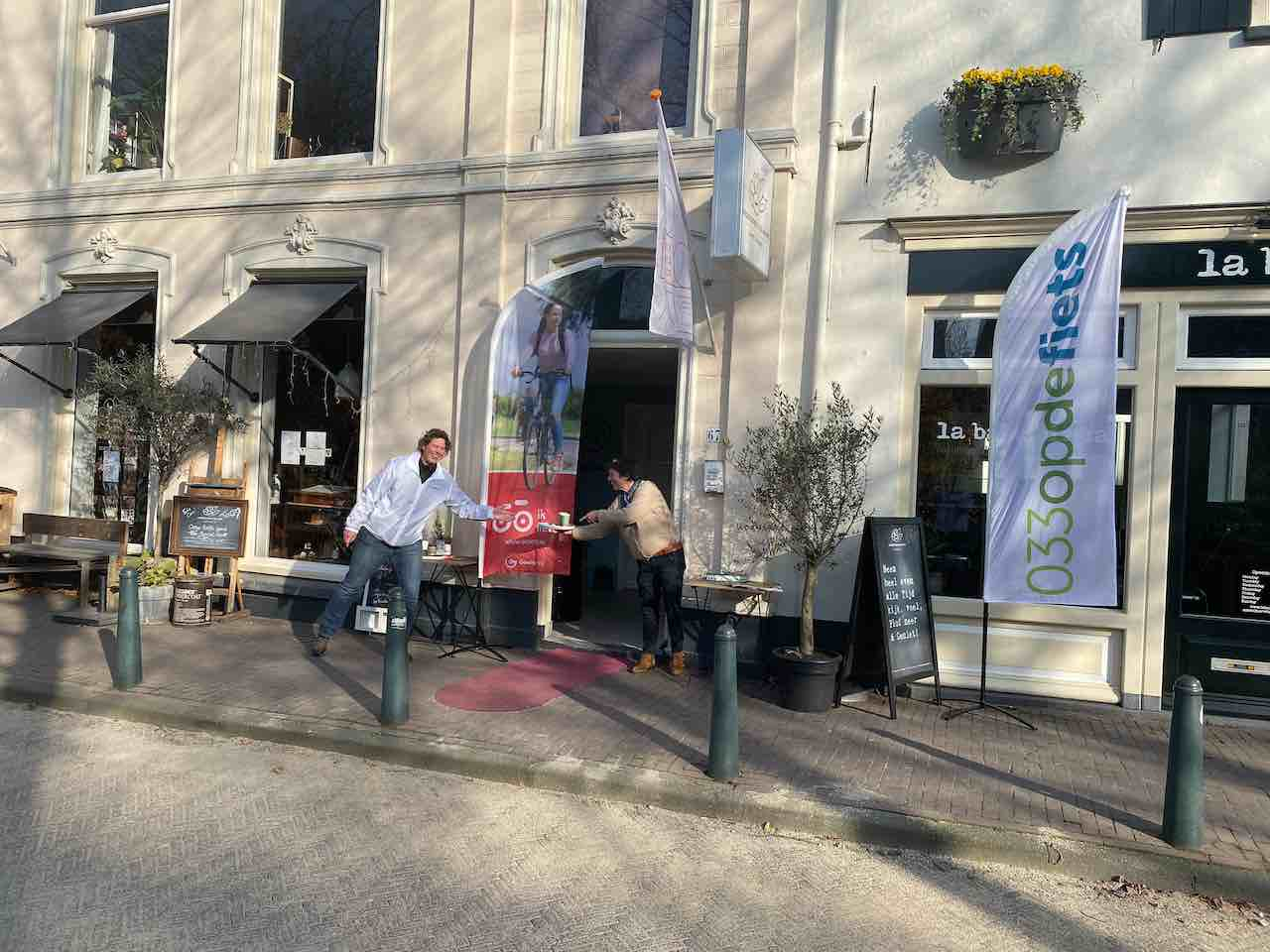 Ikfiets in Amersfoort naar Boeken, bonen & blaadjes