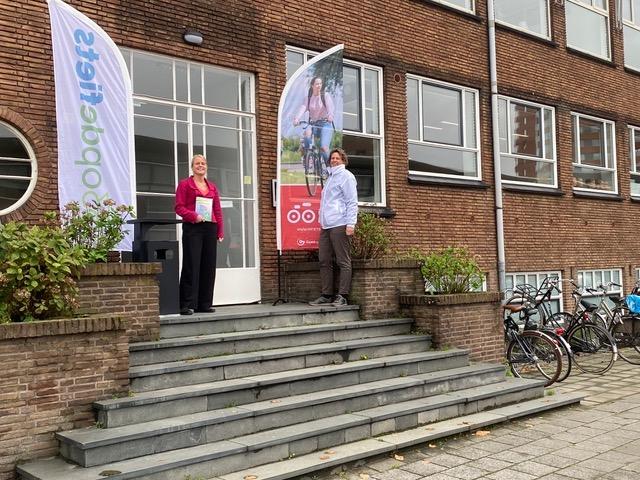 Beloningspartner Elske van de Fliert voor Ik fiets vanuit 033opdefiets