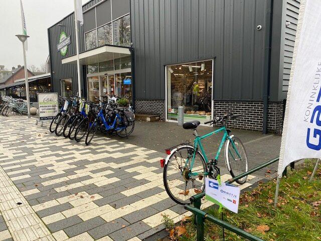start Ommetje Leusden op de fiets