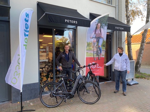 Peters Fietsen Leusden met de Ik fiets campagne