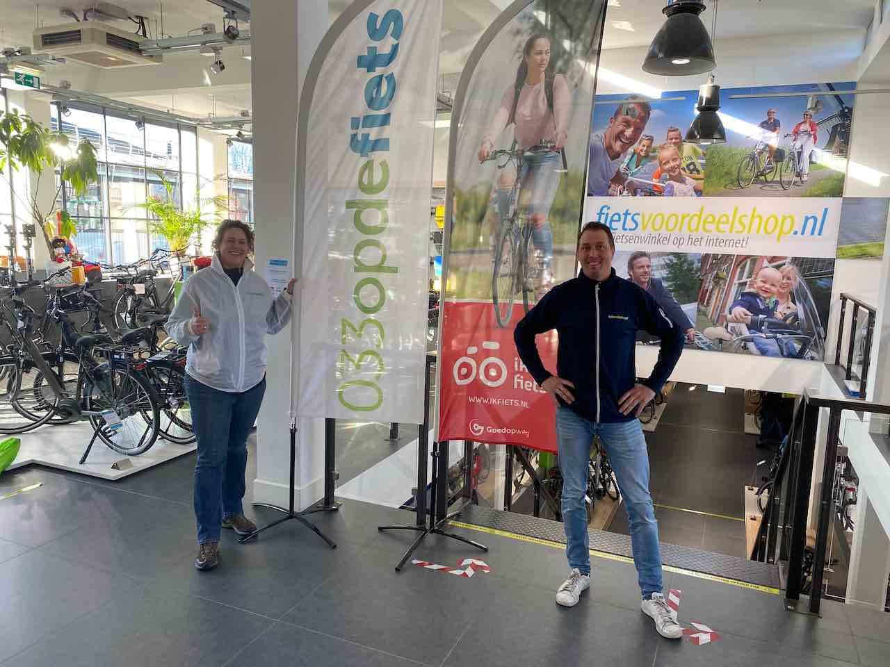 Ik fiets naar Fietsvoordeelshop Amersfoort.IMG_9498